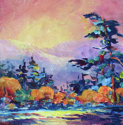 Painting - Autumn River by Bonny Roberts