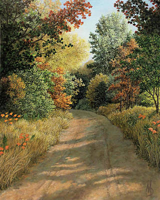 Painting - Autumn Road by Marc Dmytryshyn