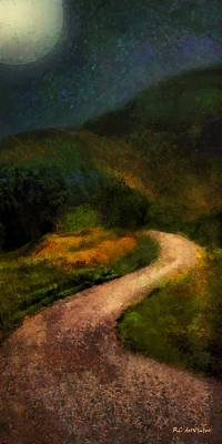 Painting - Autumn Road by RC DeWinter