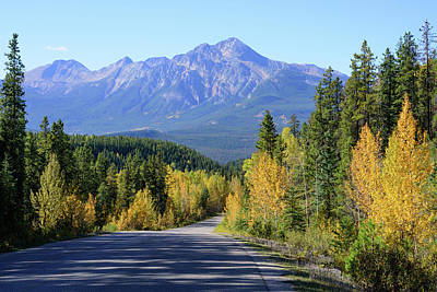 Photograph - Autumn Roads by Keith Boone