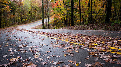 Photograph - Autumn Roads by Parker Cunningham