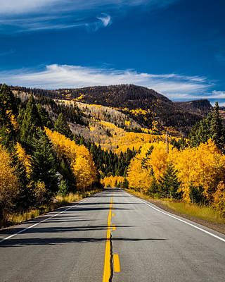 Photograph - Autumn Rockies by Ron Pate