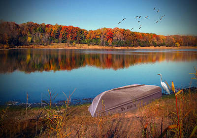 Photograph - Autumn Serenade by Cedric Hampton