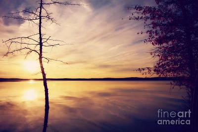 Photograph - Autumn Serenity by Kelly Nowak