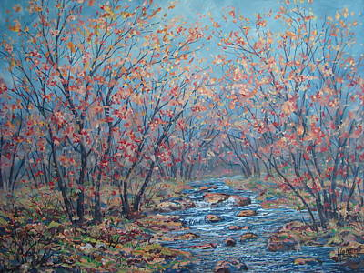 Painting - Autumn Serenity by Leonard Holland