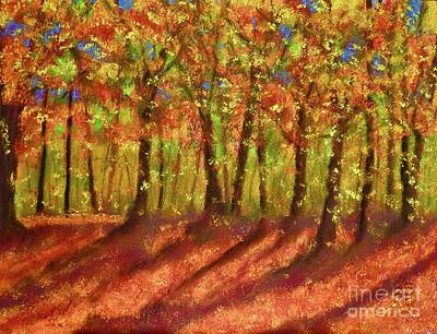 Pastel - Autumn Shadows by Barrie Stark