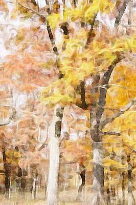 Maple Season Painting - Autumn by Art Spectrum