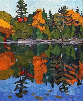 Autumn Shore Art Print