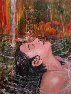 Painting - Autumn Showers by Alan Schwartz