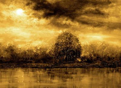 Autumn Skies Art Print by Ann Marie Bone