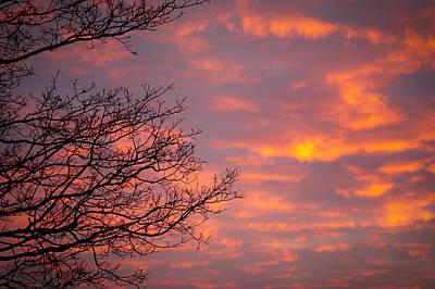 Autumn Sky Art Print