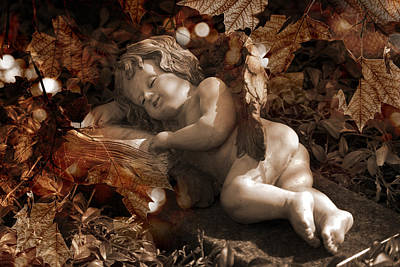 Autumn Sleep Art Print