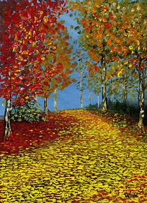 Painting - Autumn Splen by Brett Winn