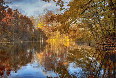 Water Photograph - Autumn Splendor by Christopher Purcell