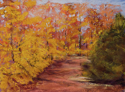 Painting - Autumn Splendor - Fall Landscape by Barry Jones