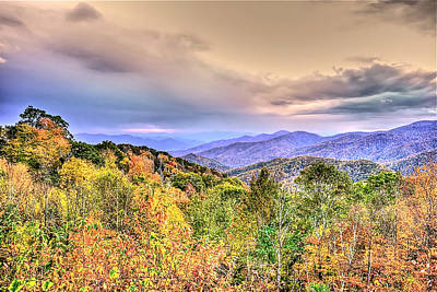 Photograph - Autumn Splendor In The Smokies by Don Mercer