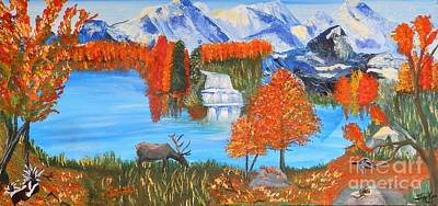 Painting - Autumn Splendor by Jayne Kerr