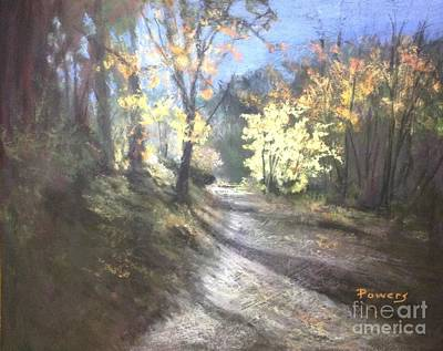 Pastel - Autumn Splendor by Mary Lynne Powers