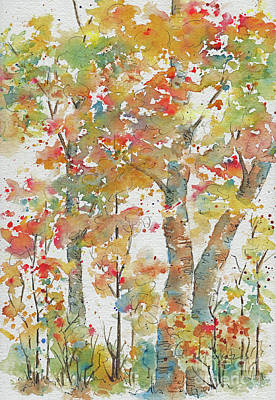 Painting - Autumn Splendor by Pat Katz