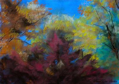 Painting - Autumn Splendor by Susan Elise Shiebler