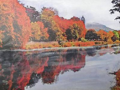 Painting - Autumn Splendour by Richard James Digance