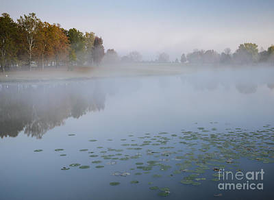 Photograph - Autumn Steam At East Lake by Tamara Becker