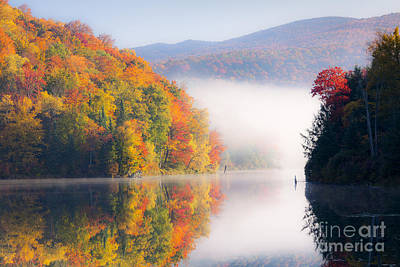 Photograph - Autumn Stillness by Alan L Graham