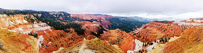 Photograph - Autumn Storm At Cedar Breaks by TL Mair