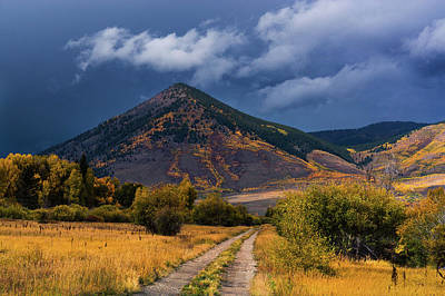Photograph - Autumn Storms by John De Bord