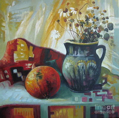 Painting - Autumn Story by Elena Oleniuc