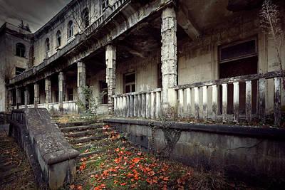 Empty House Photograph - Autumn Story by Svetlana Sewell