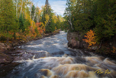 Photograph - Autumn Streamside by Rikk Flohr