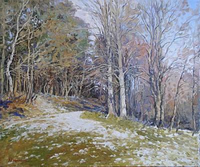 Autumn Painting - Autumn Sun by Andrey Soldatenko