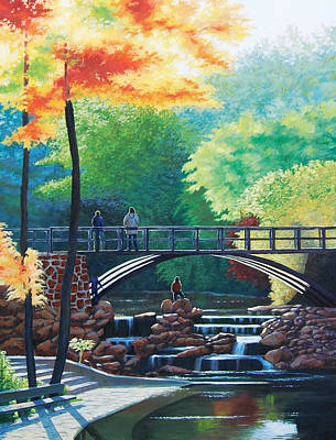 Painting - Autumn Sun by Deon West
