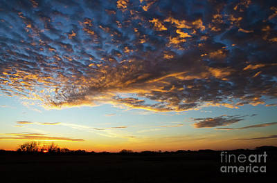 Photograph - Autumn Sunrise 1 by Bob Christopher