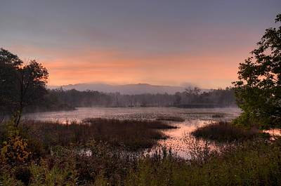Photograph - Autumn Sunrise by Ann Bridges