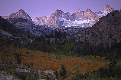 Photograph - Autumn Sunrise At Bishop Canyon In The Eastern Sierras by Jetson Nguyen