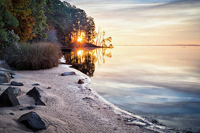 Photograph - Autumn Sunrise by Lisa McStamp