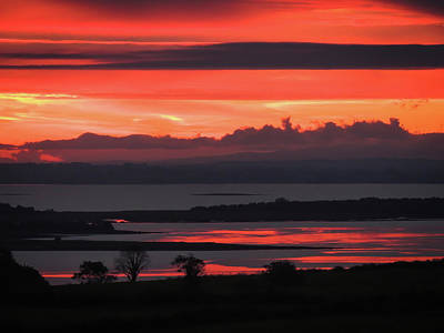 Photograph - Autumn Sunrise Over Shannon by James Truett