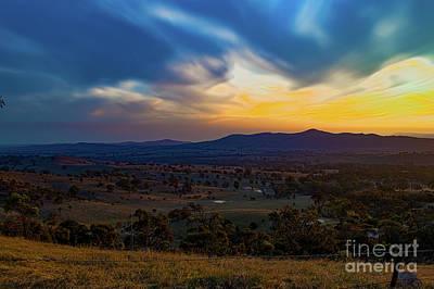 Photograph - Autumn Sunset 1  by Naomi Burgess