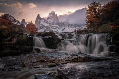 Fitz Photograph - Autumn Sunset by Daniel Cooley