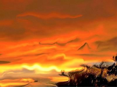 Autumn Sunset Original