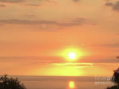 Photograph - Autumn Sunset by Karen Nicholson