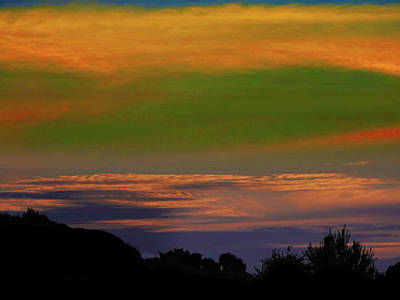 Photograph - Autumn Sunset by Mark Blauhoefer