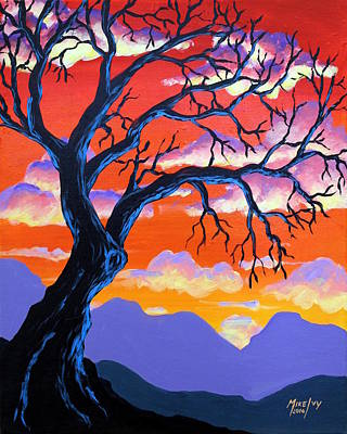Painting - Autumn Sunset by Michael Ivy