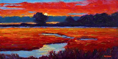 Painting - Autumn Sunset by Vernon Reinike