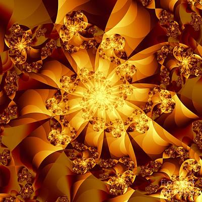 Digital Art - Autumn Sunshine by Michelle H
