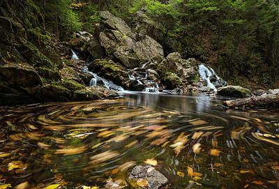 Photograph - Autumn Swirl by Juergen Roth