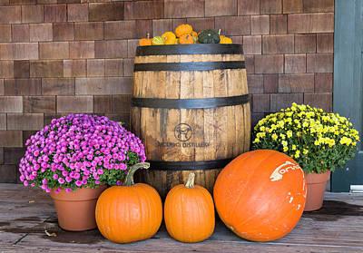 Photograph - Autumn Tableau by Fran Gallogly