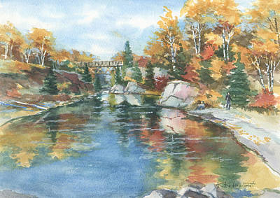 Painting - Autumn Tapestry by Kerry Kupferschmidt